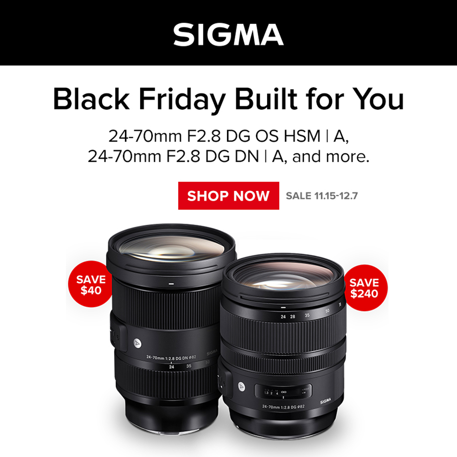 Sigma Black Friday